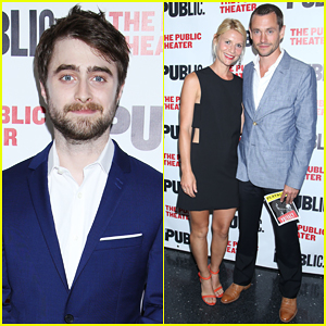 Daniel Radcliffe Gets Support From Claire Danes & Hugh Dancy At 'Privacy' Opening Night!
