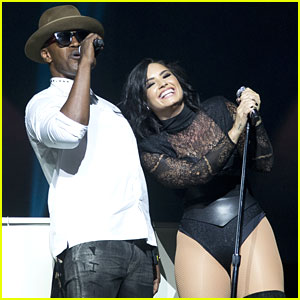 Demi Lovato & Nick Jonas Bring Out Special Guests Jamie Foxx & Desiigner For Brooklyn Concert
