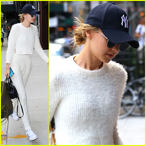 Gigi Hadid Returns Home in NYC After Quick Trip To Paris