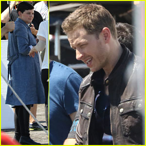 Ginnifer Goodwin & Josh Dallas Film 'Once Upon a Time' Season 6!