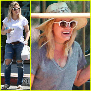 Hilary Duff's Son Luca Sings the 'Ghostbusters' Theme Song!