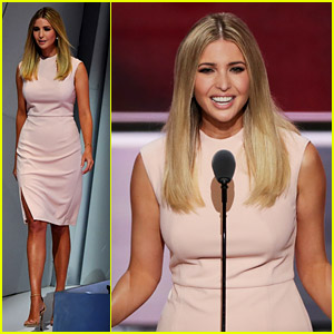 Ivanka Trump Campaigns for Women's Vote in RNC Speech
