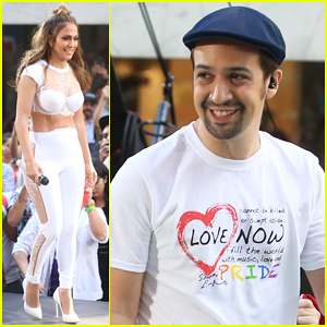 Jennifer Lopez & Lin-Manuel Miranda Perform Orlando Song 'Love Make The World Go Round' on 'Today' - Watch!