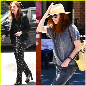 Julianne Moore Releases Her Latest Children's Book!
