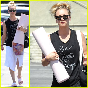 Kaley Cuoco Says Boyfriend Karl Cook is Her 'Man Crush'