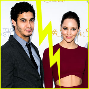 Katharine McPhee & Elyes Gabel Split (Exclusive)