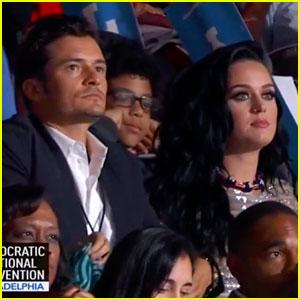 Katy Perry Says Orlando Bloom Helped Write Her DNC Speech