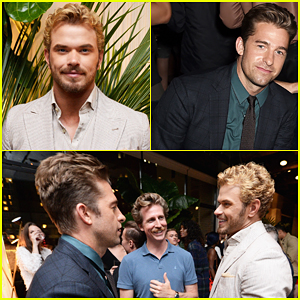 Kellan Lutz & Scott Speedman Buddy Up At Esquire's New York Fashion Week Men's Party!