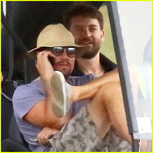 Leonardo DiCaprio Jets Out of Saint-Tropez After Fundraising Gala