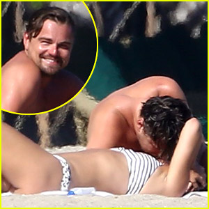 Leonardo DiCaprio & Nina Agdal Have a Steamy Makeout Session in Malibu (Photos)