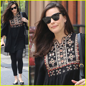 Liv Tyler Steps Out After Welcoming Daughter Lula!