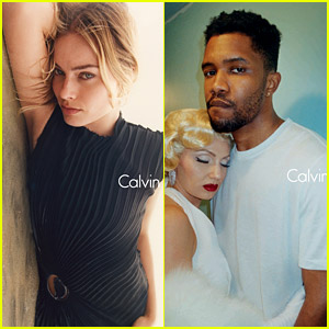 Margot Robbie & Frank Ocean Star in Latest Calvin Klein Ads