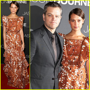 Matt Damon & Alicia Vikander Bring 'Jason Bourne' to Sydney
