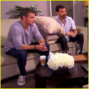 Matt Damon & Jimmy Kimmel Return To Couples Counseling In Hilarious Skit! (Video)