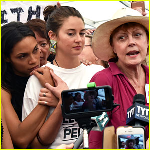 Shailene Woodley & Rosario Dawson Are Skeptical Over Hillary Clinton