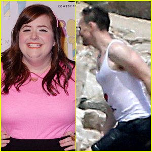 SNL's Aidy Bryant Mocks Tom Hiddleston's 'I Heart TS' Tank Top