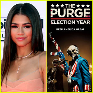 Zendaya Slams Fan Asking Which Celeb You'd Rape if 'The Purge' Was Real