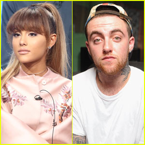 Ariana Grande Kisses Rapper Mac Miller During Sushi Date