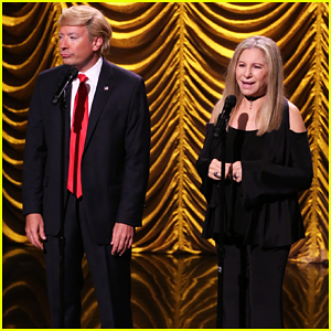 Barbra Streisand Duets with 'Donald Trump' On 'The Tonight Show'!