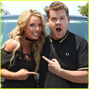 Britney Spears Set for 'Carpool Karaoke' with James Corden!
