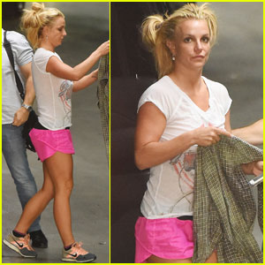 Britney Spears Is Nervous About Performing During the VMAs