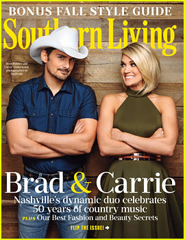 Carrie Underwood & Brad Paisley Cover 'Southern Living' September 2016!