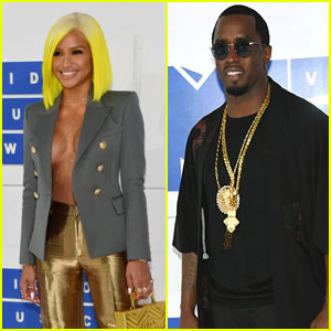 Cassie & Diddy Arrive at the 2016 MTV VMAs!