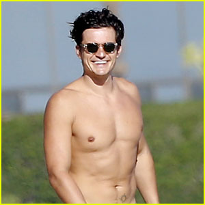 Celebs React to Orlando Bloom's NSFW Beach Photos ...