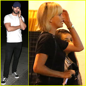 Charlize Theron & Chace Crawford Hit Up Coldplay Concert