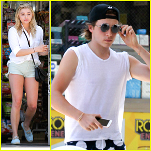 Chloe Moretz & Brooklyn Beckham Fuel Up Before The Weekend