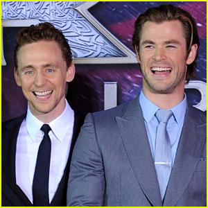 Chris Hemsworth Jokes He & Tom Hiddleston Have New Part-Time Jobs on 'Thor: Ragnarok' Set!