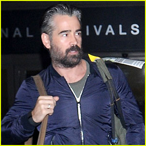 Colin Farrell Sports Gray Hair During His Latest Outing