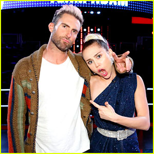 Are Miley Cyrus & Adam Levine in an On-Set 'The Voice' Feud?