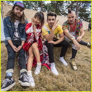DNCE Performs at Both V Festivals in London This Weekend