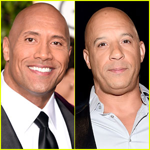 Dwayne Johnson's 'Fast 8' Set Beef is Reportedly with Vin Diesel