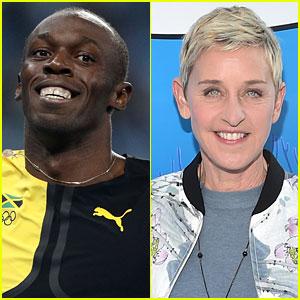 Ellen DeGeneres Responds to Controversial Usain Bolt Meme