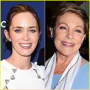 Emily Blunt Reveals Julie Andrews' Reaction to Her 'Mary Poppins' Casting