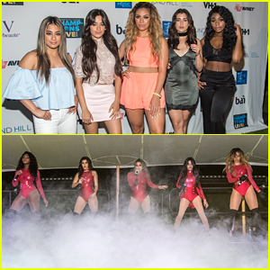 Fifth Harmony Perform In The Hamptons Ahead of MTV VMAs