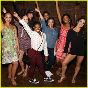 The 'Final Five' Get to See 'Hamilton' During NYC Tour!
