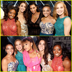 Final Five Meet Kim Kardashian, Ariana Grande, & More at MTV VMAs 2016!