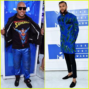 Flo Rida & Jidenna Make Bold Fashion Statements at the MTV VMAs 2016!