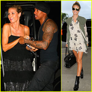 Heidi Klum & Nick Cannon Jam Out at Drake's Summer Sixteen Tour!