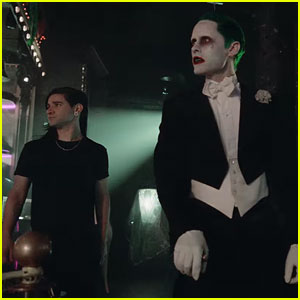 Jared Leto Stars as the Joker in Skrillex & Rick Ross Music Video for 'Purple Lamborghini'
