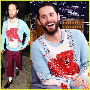 Jared Leto Plays Pup Quiz & Brings Jimmy Fallon A Gift from The Joker! (Video)