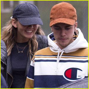 Justin Bieber Says He's 'Loving London' Amid Bronte Blampied Romance Rumors