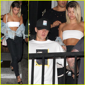 Justin Bieber & Sofia Richie Celebrate Her Birthday Together