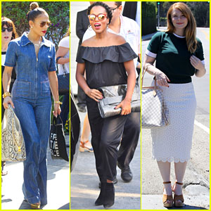 Jennifer Lopez & Pregnant Kerry Washington Indulge at Jennifer Klein's Annual Event!