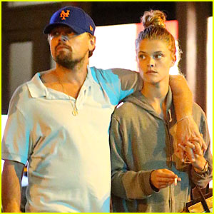 Leonardo DiCaprio & Nina Agdal Keep Close for NYC Dinner Date!
