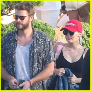 Watch Miley Cyrus & Liam Hemsworth Sing Along to Justin Bieber's 'Love Yourself' in the Car!