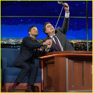 Rami Malek Posts First Instagram Pic Thanks to Stephen Colbert